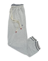 Original Penguin Striped Cuff Sweatpants Grey
