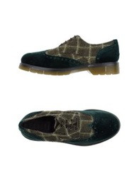 Never Ever Lace Up Shoes Military Green