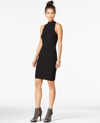 Bar Iii Mock Turtleneck Ottoman Bodycon Dress Only At Macy's