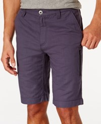 Inc International Concepts Clark Slub Cotton Shorts Only At Macy's