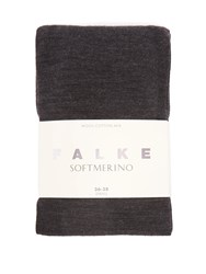 Falke Soft Merino Tights Dark Grey