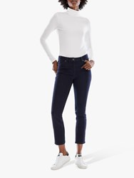 Pure Collection Duchy Cropped Jeans Indigo
