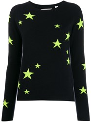 Chinti And Parker Cashmere Fluorescent Star Jumper 60