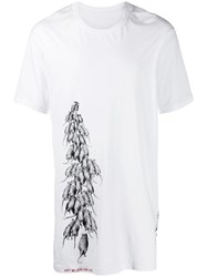 11 By Boris Bidjan Saberi Rat Print T Shirt White