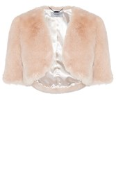 Coast Bleeker Faux Fur Cover Up Blush