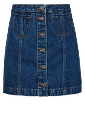 Ltb Ellis Denim Skirt Ida Wash Blue Denim