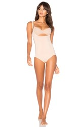 Spanx Oncore Open Bust Bodysuit Blush