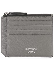 Jimmy Choo Belmont Wallet Grey