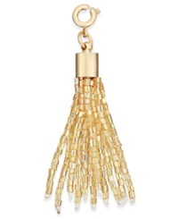 Inc International Concepts Gold Tone Beaded Tassel Charm Only At Macy's