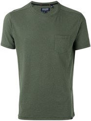 Woolrich Chest Pocket T Shirt Green