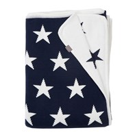Gant Stars Knit Throw 130X180cm Yankee Blue