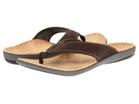 Spenco Yumi Dark Brown Men's Sandals
