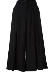 Y's Wide Leg Culottes Black