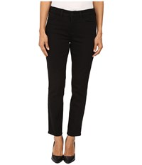 Nydj Petite Clarissa Skinny Ankle Jeans In Luxury Touch Denim In Black Garment Wash Black Garment Wash Women's Jeans