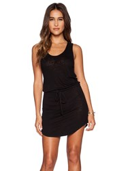 Ever Melanie Tank Tie Dress Black