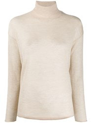 Stefano Mortari Turtleneck Plain Jumper 60