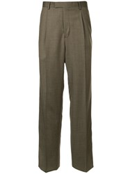 Gieves And Hawkes Formal Tailored Trousers Brown