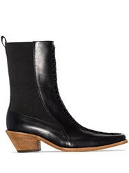 Haider Ackermann Ela 50Mm Ankle Boots Black