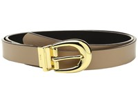 Lauren Ralph Lauren 1 Saffiano To Smooth Reversible Belt Camel Black Women's Belts Tan