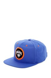 Mitchell And Ness Knicks Dobby Patch Hook Loop Back Blue