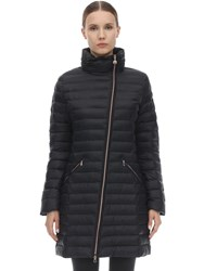 Emporio Armani Long Mountain Down Jacket Black