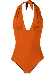 Mc2 Saint Barth Marisol One Piece Swimsuit Orange
