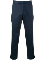 Dell'oglio Cropped Tailored Trousers Blue