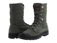 Palladium Baggy Stonewashed Metal Men's Lace Up Boots Black