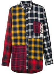 P.A.M. Perks And Mini Pam Checked Patchwork Shirt Multicolour