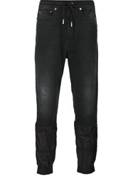 Diesel Black Gold Knit Joggers Black