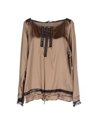 Cristinaeffe Collection Blouses Khaki