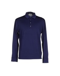 Heritage Topwear Polo Shirts Men Dark Blue