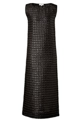 Isa Arfen Techno Honeycomb Dress Black
