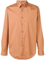 Theory Sylvain Wealth Shirt Brown