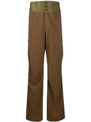 Lanvin Contrast Waistband Cargo Trousers 60