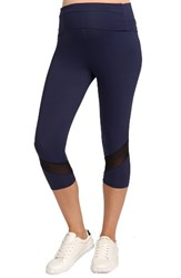 Rosie Pope Women's Candace Crop Maternity Leggings Navy