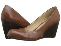 Chinese Laundry Dl Not Me Cognac 2 Women's Wedge Shoes Mahogany