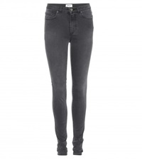 Acne Studios Pin High Rise Skinny Jeans Grey
