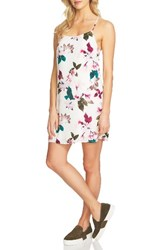 1.State Women's Floral Print Slipdress Cloud