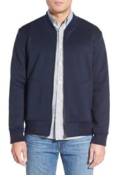 Men's French Connection 'Outpoint' Knit Bomber Jacket