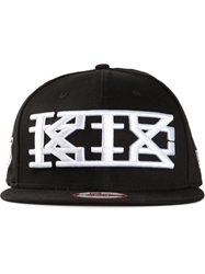 Ktz Embroidered Baseball Cap Black
