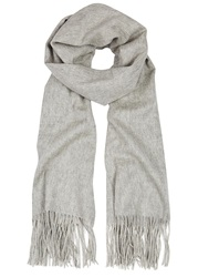 American Vintage Heather Grey Wool Scarf