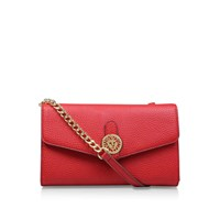 Anne Klein Casual Remix Crossbody Red
