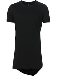 Tom Rebl Round Neck T Shirt Black