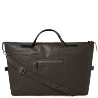 Ally Capellino Arron Canvas Holdall Brown