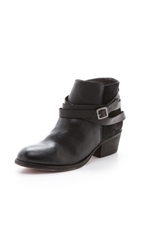 Hudson Horrigan Wrap Strap Booties Jet