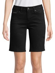 Calvin Klein Jeans City Stretch Shorts Black Magic