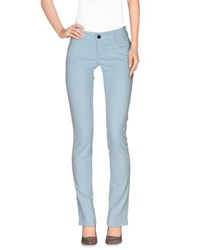 Camouflage Ar And J. Trousers Casual Trousers Women Sky Blue