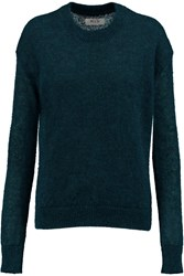 Mih Jeans Delo Mohair Blend Sweater Blue