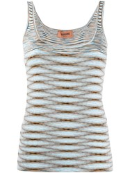 Missoni Intarsia Knit Sleeveless Top 60